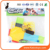 Factory Direct Sell Kids Toy 19 PCS Intelligence Puzzle Building Blocks With 2 PCS Pull Back Car