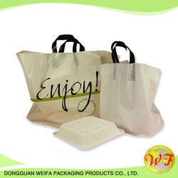 High quality customized 0.03-0.05mm t shirt plastic shopping bag , plastic bag printing