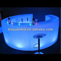 2017 LED used commercial bar sale/led disco furniture/bar counter
