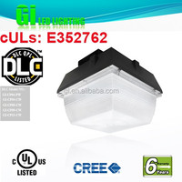 6 years warranty DLC UL cUL Waterproof Led Canopy