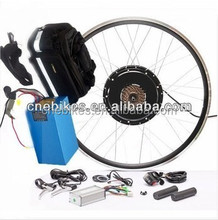High speed !electric bicycle front / rear wheel 48v 500w brushless hub motor ebike conversion kit