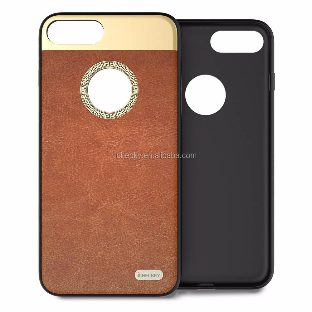 China Suppiller Fashion Mobile Phone Case Flip Real Leather Cover For iPhone6/6 Plus