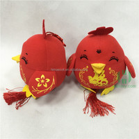 HI CE Rooster/chicken plush toys Chinese Spring festival/Chinese new year toy