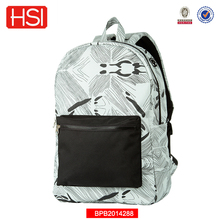 polyester high quality marble wholesale school bag for girl
