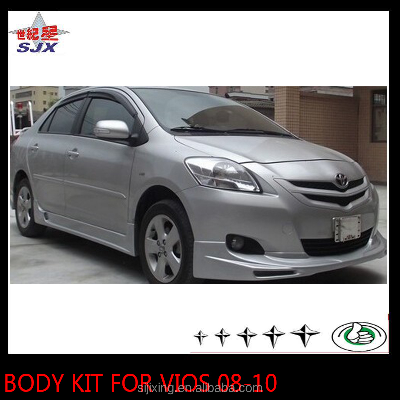 Body kit for VIOS 08-10 styling bumpers