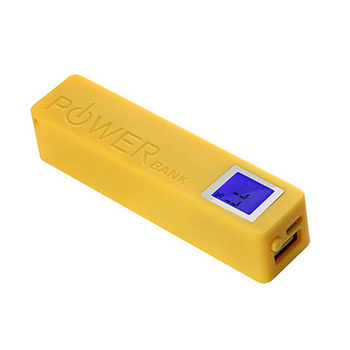 Wholesale 2600mAh Portable Phone Charger with Digital Indicator
