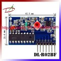 High sensitivity 2Mhz bandwidth 2272 decode RF receiver module