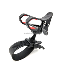 Universal 360 Rotating Motorbike Bicycle Bike Metal Phone Holder Handlebar Clip Stand Mount Bracket For Smart Mobile Cellphone