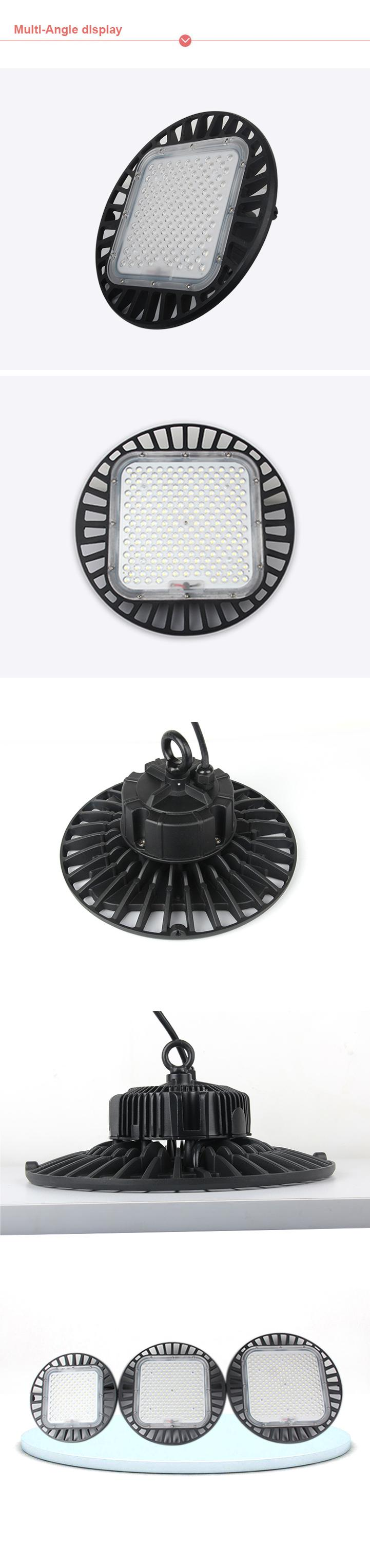 Cheaper Popular new UFO led high bay light 100w 150w 200w outdoor waterproof warehouse led high bay light 100w