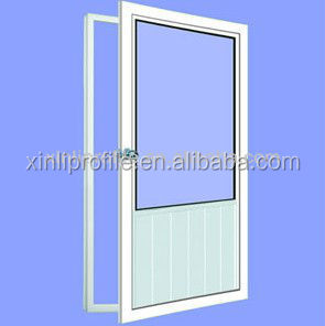 platic doors europe style pvc upvc profiles for doors and windows