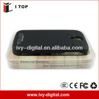 external battery case power bank battery back cover for samsung galaxy s4 i9500