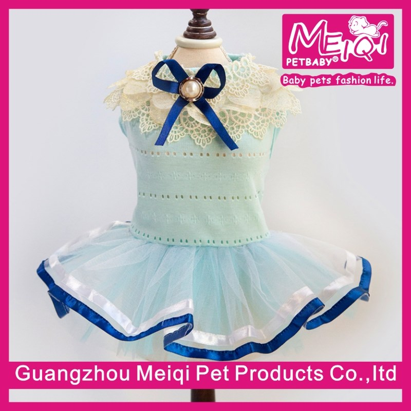 Lolita Style Luxury Pet Clothing for Dog Good Elastic Pet Dress