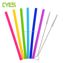 Wholesale Low Price Food Grade Reusable Silicone Rubber Drinking Straws