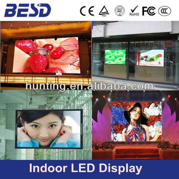alibaba cn Indoor full color P4 mm led video display