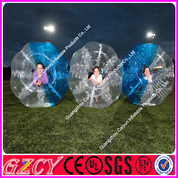 Inflatable hamster ball buddy belly bumper ball for Kids