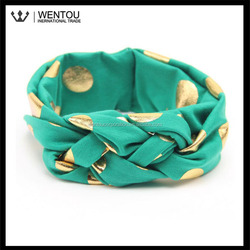 Personlized Cotton Knotted Turban Head Wrap for Toddler