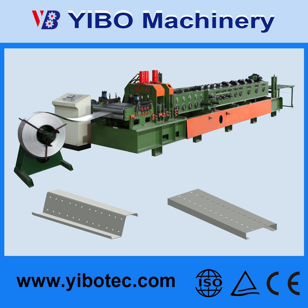 Yibo Steel Truss Exchanged Post-cutting Style Of C Z M Perlin Roll Forming Machine