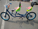 colorful lover park bike with baby seat high quality surrey bicycle