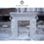 PFM european style indoor decorative electrical hand-carved marble fireplace mantels
