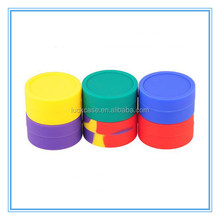 FDA E-cigarette Oil container storage jar smoke pack box sticky wax container smoking oil silicone concentrate container/jar