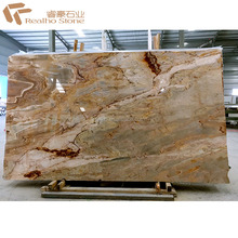 Roman Impression Luxury Brown Marble Decoration Material