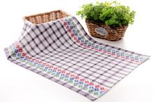 Wholesale textile printed plain cotton kitchen tea towel