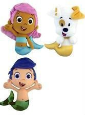 Nickelodeon Bubble Guppies Plush Lot Gil Molly & Puppy