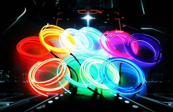 high brightness flexible neon el cold light