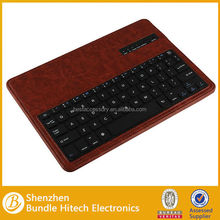 High quality mini wireless keyboard removable, folio keyboard case for samsung galaxy tab pro 10.1 T520