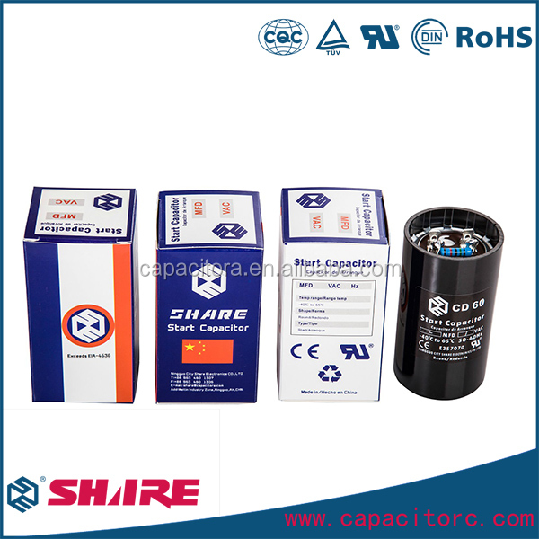 Thailand standard sh cd60 capacitors for machines