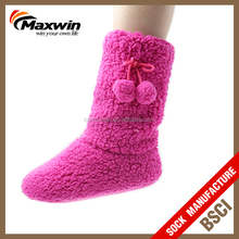 Winter Indoor Non Slip Cozy Slipper Boots For Women