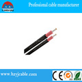 Copper double insulation solar cable 6mm2 red/black Flexible flat twin cores Factory price for solar cable 6mm2