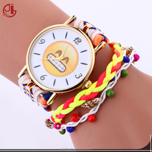 Cry Cool Laughing Smile Emojis Women Watches Fashion Cute Pattern Crystal Pictures Of Fashion Girls Watches