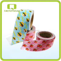 Yiwu Agent Multicolor Saftey Food Grade OPP Plastic Film Rolls For Food Packaging