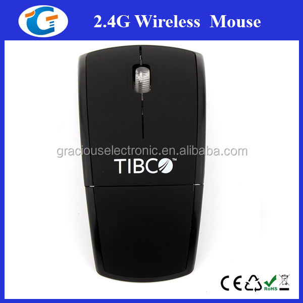 Hot Folding 2.4Ghz Optical Wireless Mouse