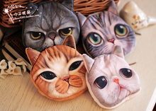 Cute Dog Cat Design Coin Purse Chang Wallet Fashion Mini Bag Polyester Fabric
