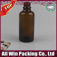 2 oz. Amber Boston Round Glass Bottle Glass & Plastic Bottles1 oz / Dropper/Specialty Bottle - European Dropper Bottles