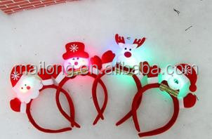 Christmas party supplies small lights single head hoop buckle ornamentspn6799