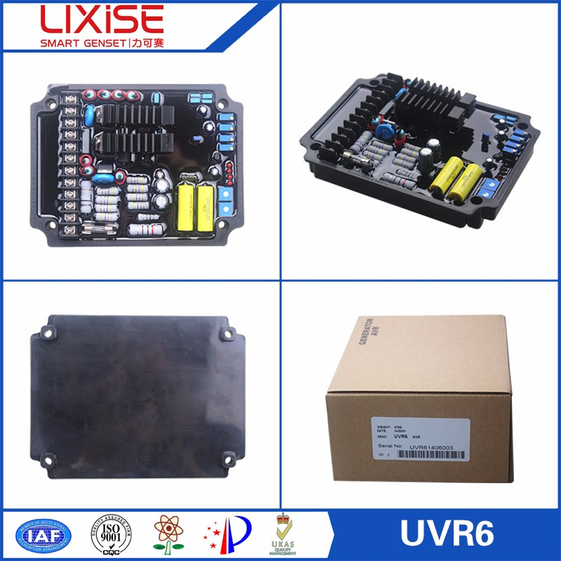 UVR6 LIXiSE 3 phase automatic voltage regulator for generator set