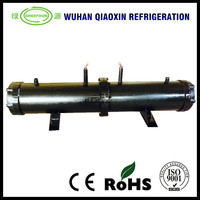 CE Custom made tube heat exchanger/central air conditioning water-cooled evaporator condenser/corrosion resistant heat exchanger