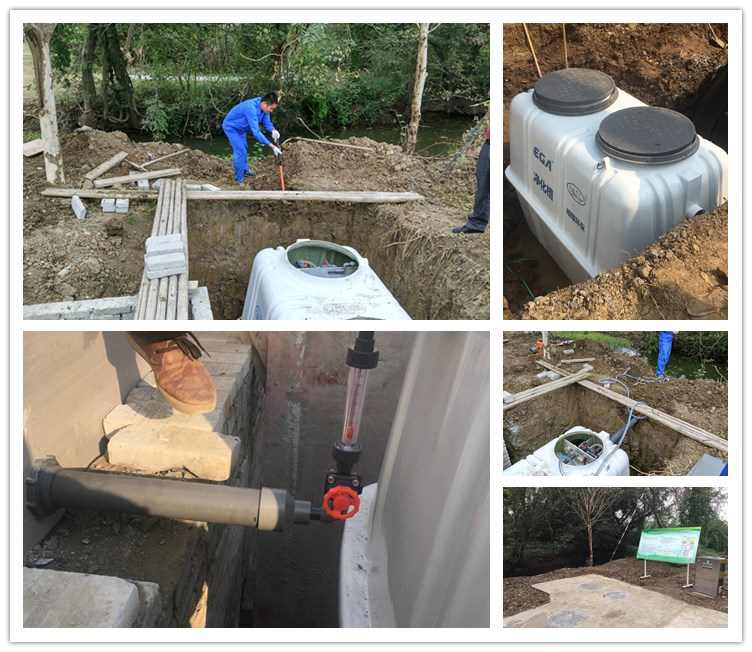 Quick Start-up,Fully Automatic and Mess Free hospital sewage water pollution treatment