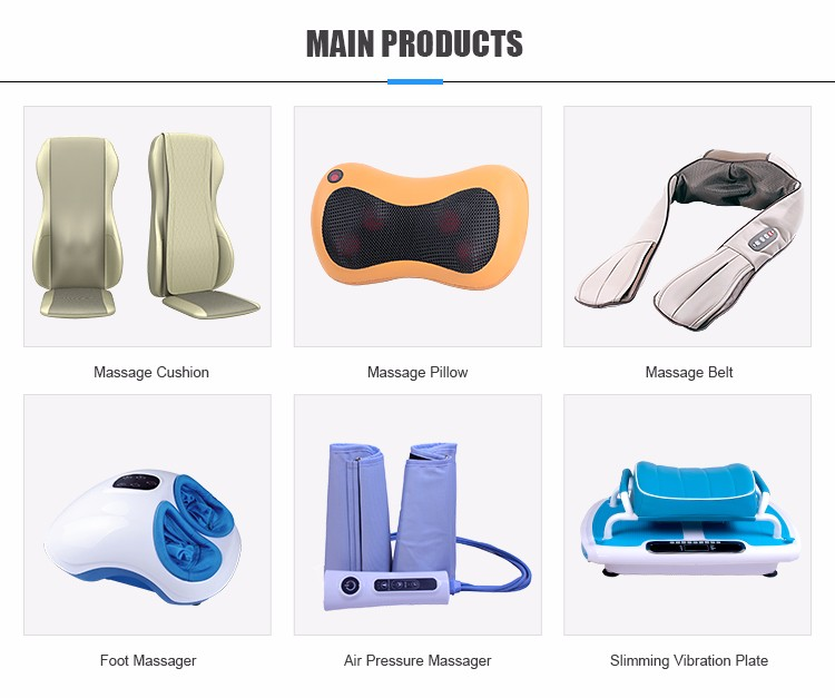 2018 New Design Comfortable Kneading Back And Buttock Massager Cushion
