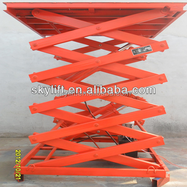 Scissor Lift Mechanism Design : Hydraulic vertical scissor lift mechanism design buy