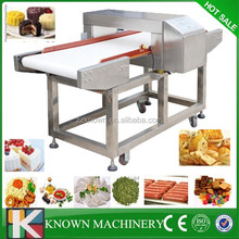 Conveyor belt metal detector for food processing industry with good price