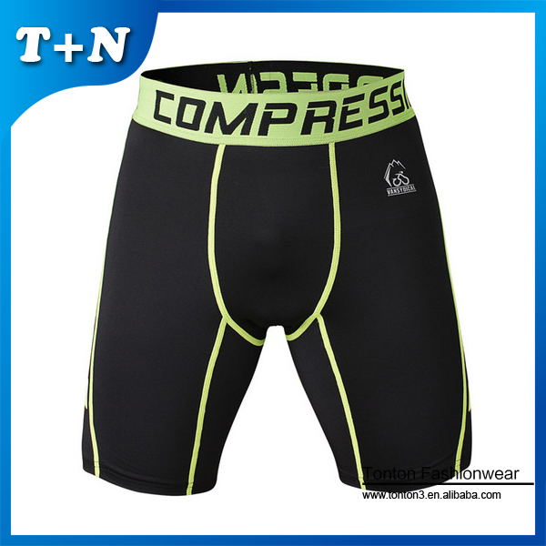 Men custom wholesale hot selling women compression factory china gym shorts