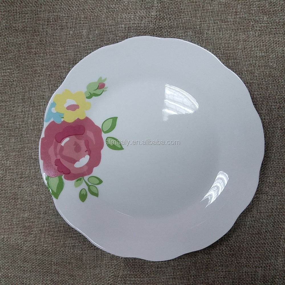 chinese porcelain wedding decoration plate,plate and dishes