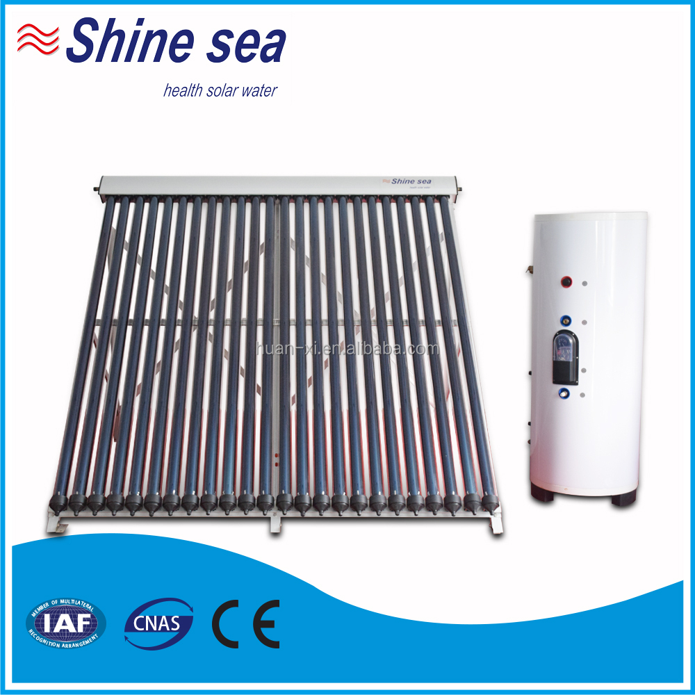 New popular Split Pressurized Solar Collector Water Heater With Copper Coil In Water Tank