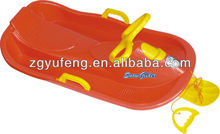 kids snow boat,snow slee,plastic snow luge snow glider