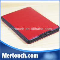 For Kindle Touch Original Leather Tablet PC Case For Kindle Touch flip leather case