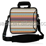 neoprene Laptop sleeves 15.6 with handle and shoulder straps